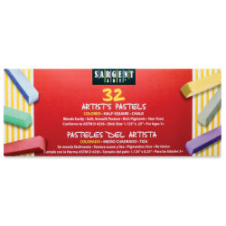 Sargent Art Square Chalk Pastels
