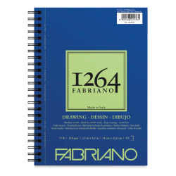 "Fabriano 1264 Drawing Pad - 8-1/2"" x 5-1/2"", 50 Sheets"
