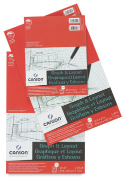 Canson Foundation Graph Pads