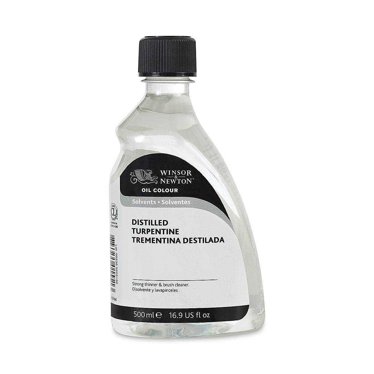Winsor & Newton Distilled Turpentine - 500 ml bottle