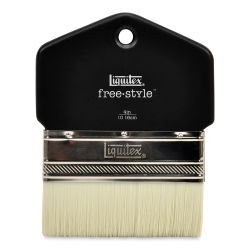 Liquitex Freestyle Brush - Paddle, Short Handle, 4''
