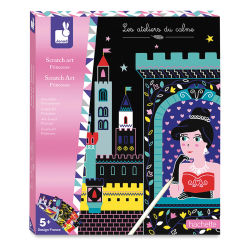 Princesses Scratch Art Kit