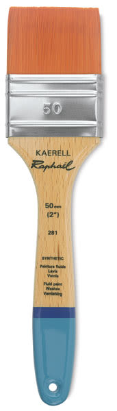 Raphael Kaerell Brush - Mixed Media Flat, Size 50