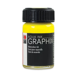 Marabu Graphix Aqua Ink - Lemon, 15 ml