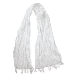 Natural Cotton Scarf - 20''W x 70''L
