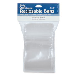 "Darice Polybags - Reclosable, Pkg of 100, 3"" x 4"""