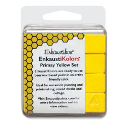 Enkaustikos EnkaustiKolor Paint Sets - Primary Yellow Set