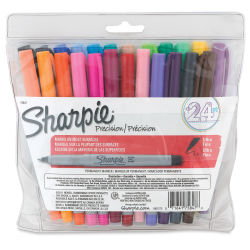 Sharpie Ultra-Fine Point Marker - Assorted Colors, Ultra-Fine Point, Set of 24