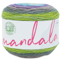 Lion Brand Mandala Yarn Cake - Ghidorah, 590 yards
