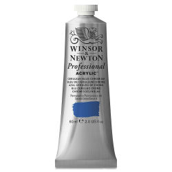Winsor & Newton Artists' Acrylics - Cerulean Blue Chromium, 60 ml tube