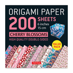 Tuttle Origami Pack Cherry Blossoms