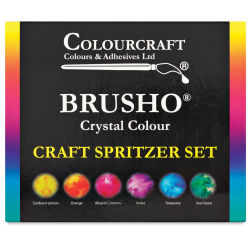 Brusho Crystal Colours - Craft Spritzer Set