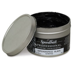 Speedball Professional Relief Ink - Set of 4 Colors, 8 oz each