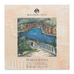 Acquerello Portofino Watercolor Pad - 12'' x 12'', 140 lb, Hot Press, 20 Sheets