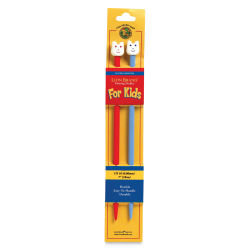 Lion Brand Yarn Kids Knitting Needles - No 10, 6 mm