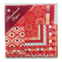 Shizen Mini Decorative Paper Value Pack - Red