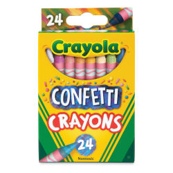 Crayola Confetti Crayons - Set of 24
