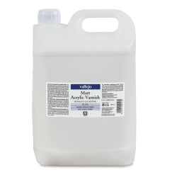 Vallejo Permanent Acrylic Varnish - Matte, 5 Liter