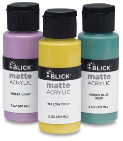 Blick Matte Acrylics and Sets