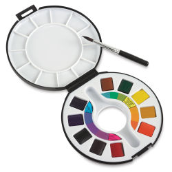 Raphaël Watercolor Travel Set - Set of 10 Colors, half pans