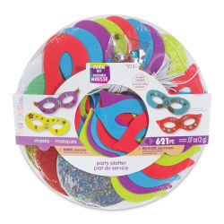 Darice Foam Mask Kit - Party Platter Masks
