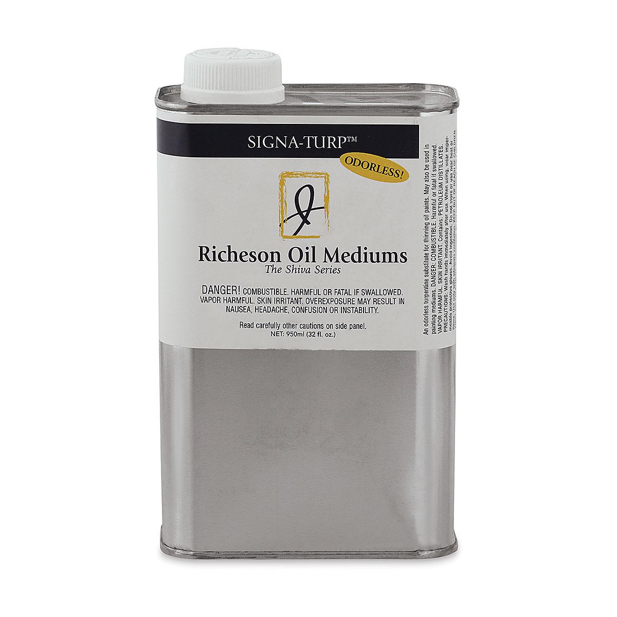 Shiva Signa-Turp Odorless Thinner - 32 oz bottle