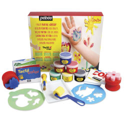 Pebeo Tactilcolor Super Activity Set