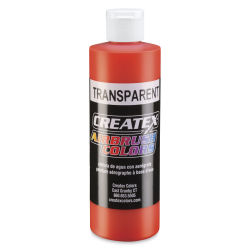 Createx Airbrush Color - 8 oz, Transparent Sunset Red