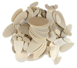 Assorted Round Shapes and Sizes, Pkg of 330