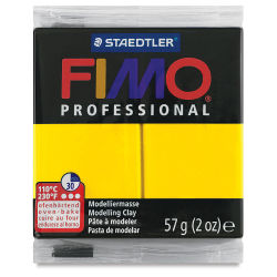 Fimo Professional Clay - True Yellow, 2 oz