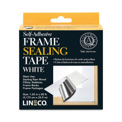 Lineco Sealing Tape - 1 1/4'' x 85 ft, White