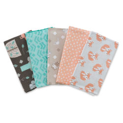Fabric Palette Pre-Cut Fabric - Little Forest, 5-Piece Bundle