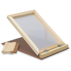 "Screen Printing Unit, with 7"" Squeegee"
