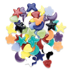 Diamond Tech Whimsy Shape Tiles - Opaque, 3 lb