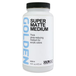 Super Loaded Matte Medium - 16 oz Jar