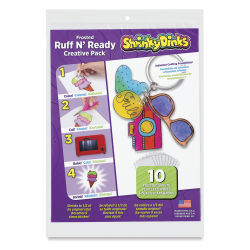 Shrinky Dinks Shrinkable Plastic - Ruff N Ready, Pkg of 10