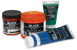 Blick Water-Soluble Block Printing Inks