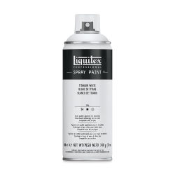 Liquitex Professional Spray Paint - Titanium White, 400 ml can