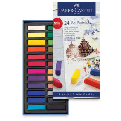 Faber-Castell Goldfaber Studio Soft Pastels - Set of 24