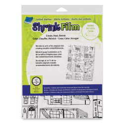 Grafix Artist Series Shrink Film  - Home, Pkg of 4