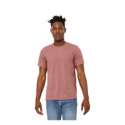 Bella Canvas Unisex T-shirt - Mauve Heather