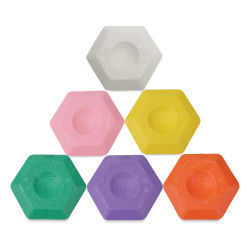 Koh-I-Noor Hexagon Thermoplastic Eraser (Color will vary.)