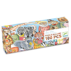 Djeco Gallery Puzzles-King's Party, 100 Pieces