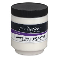 Chroma Atelier Heavy Gel - Matte, 8.4 oz Jar