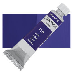 Caran d'Ache Gouache Studio Tubes and Sets - Violet, 10 ml, Tube