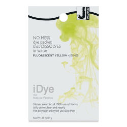 Jacquard iDye - Fluorescent Yellow, Natural Fabrics, 14 g packet
