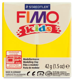 Staedtler Fimo Kids Polymer Clay - Yellow, 1.5 oz