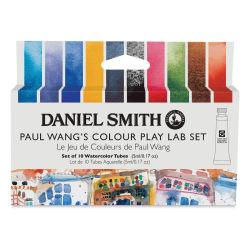 Daniel Smith Extra Fine Watercolor - Paul Wang's Color Play Lab Set of 10, 5 ml, Tube