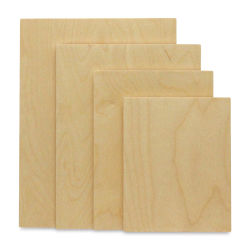 Walnut Hollow Baltic Birch Beveled Edge Surface - 12'' x 16''
