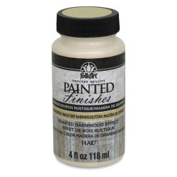 FolkArt Painted Finishes Barnwood Effect Paint - Wax, 4 oz bottle